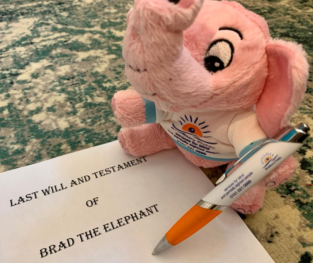 http://Close-up%20of%20Brad%20the%20Elephant%20writing%20his%20Last%20Will%20and%20Testament.
