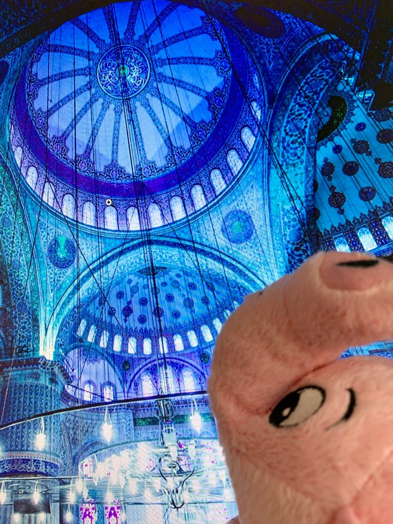 http://Close-up%20of%20Brad%20at%20the%20Blue%20Mosque,%20Turkey.